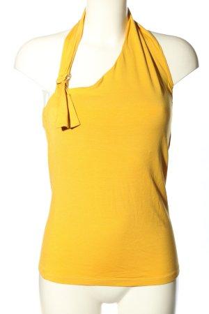 Max Mara One-Shoulder-Shirt hellorange Casual-Look