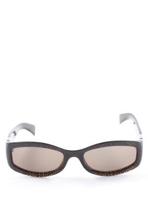 Max Mara ovale Sonnenbrille mehrfarbig Casual-Look
