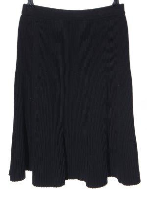 Max Mara Pleated Skirt black business style