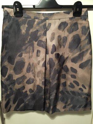 Max Mara Flared Skirt multicolored cotton
