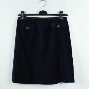 Weekend Max Mara High Waist Skirt dark blue mixture fibre
