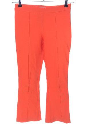 Max Mara Pantalone a zampa d'elefante arancione chiaro stile casual
