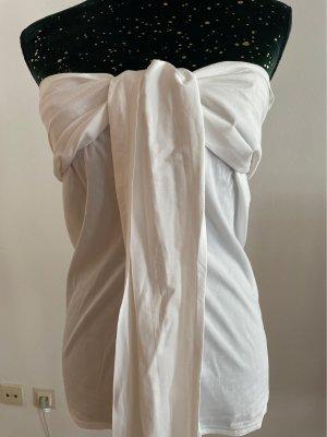Max Mara Kopertowa bluzka biały