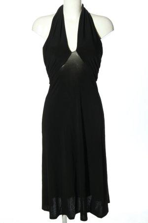 Max Mara schulterfreies Kleid schwarz Casual-Look