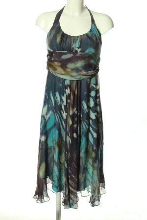 Max Mara Sukienka z dekoltem typu halter Abstrakcyjny wzór W stylu casual