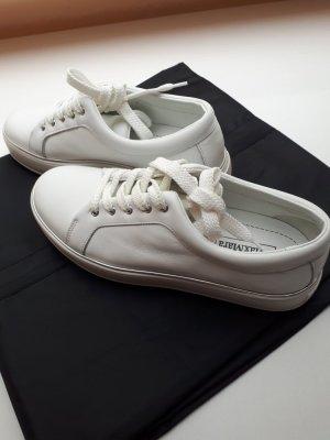 Max Mara Sneaker weißes Leder Gr. 38. NP: 380€