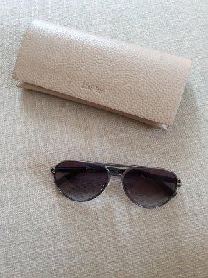 Max Mara Aviator Glasses light grey mixture fibre