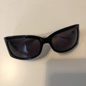 Max Mara Gafas de sol cuadradas negro-blanco