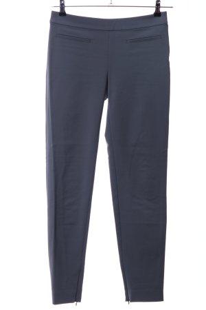 Max Mara Pantalone jersey blu stile professionale