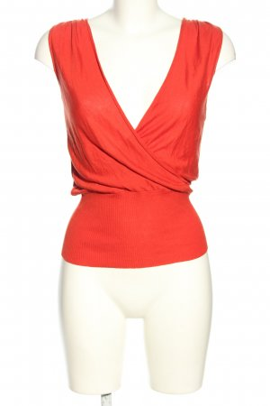 Max Mara Knitted Top red casual look