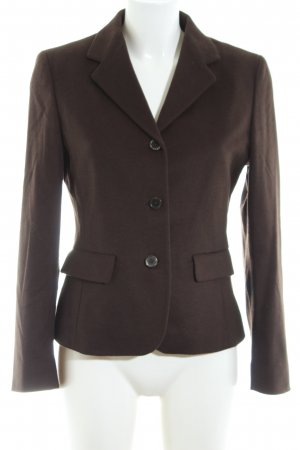 Max Mara Unisex-Blazer braun Business-Look