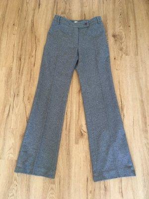 Max Mara Pantalon en laine gris
