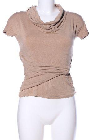 Max Mara Koszulka z dekoltem woda nude Melanżowy W stylu casual
