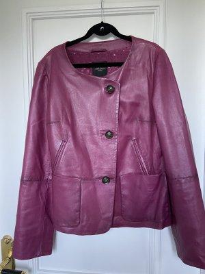 Weekend Max Mara Leather Jacket multicolored
