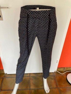 Weekend Max Mara Pantalon «Baggy» bleu polyester