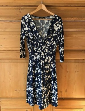 Max Mara Weekend Kleid, schwarz-blau, Gr M