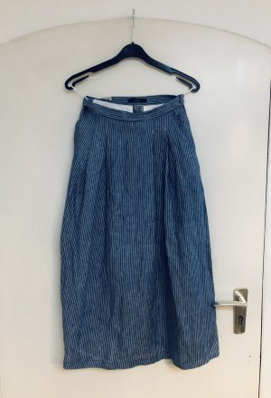 Weekend Max Mara Maxi Skirt slate-gray-white