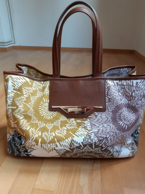 Weekend Max Mara Bolso de tela multicolor Lino