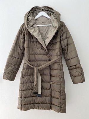 Max Mara Piumino marrone-grigio-beige Poliammide