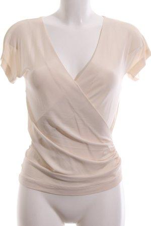 Max Mara Wraparound Shirt cream casual look