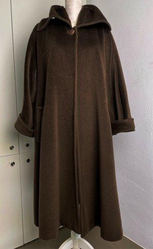 Max Mara Cappotto in lana marrone scuro-marrone Lana