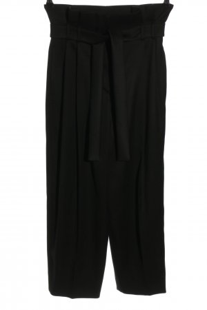 Max Mara Woolen Trousers black casual look
