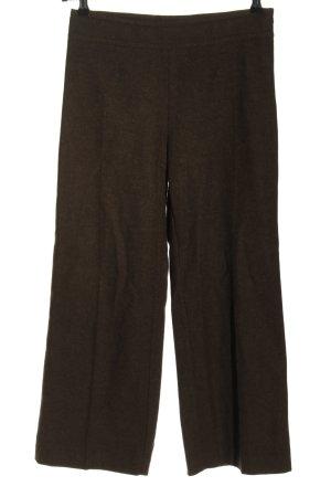Max Mara Woolen Trousers brown flecked casual look