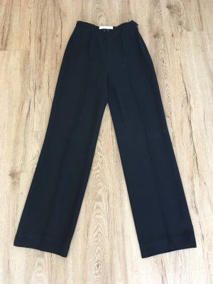 Max Mara Pantalon en laine noir