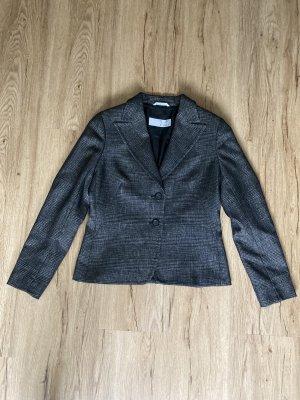 Max Mara Wollen blazer bruin-zwart Wol