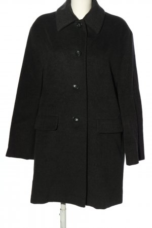 Max Mara Wool Coat black flecked business style
