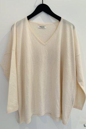 Max & Moi Cashmere Jumper natural white cashmere