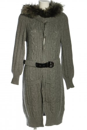 Max & Moi Strickjacke hellgrau Casual-Look
