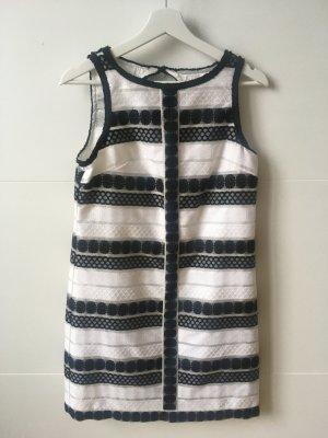 MAX STUDIO, Kleid schwarz-weiß, Größe XS