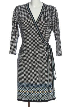Max Studio Kopertowa sukienka Łączone wzory W stylu casual