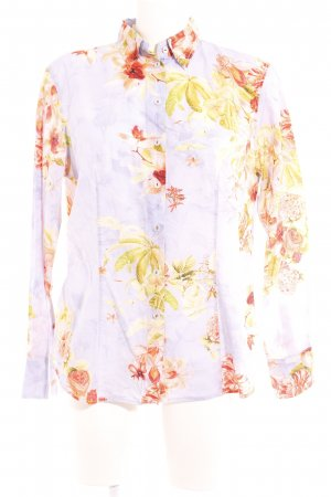 Max Volmáry Hemd-Bluse florales Muster Casual-Look