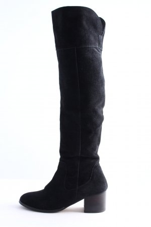 MAX Wide Calf Boots black business style