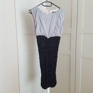MAX WELL Stretch jurk zwart-zilver