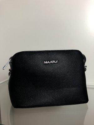 Maxfly leather bag black