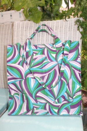 Maxi Beach Bag * Shopping Bag * Strandtasche * tolles Muster * NEU *