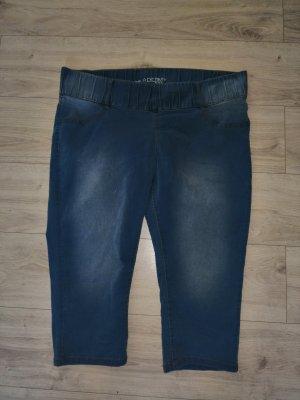 Maxi blue 3/4 Jeans Schlupfhose Größe 50