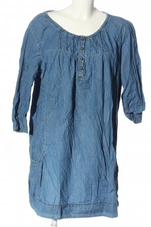 maxi blue. Long-Bluse