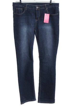 maxi blue. Straight-Leg Jeans blau Casual-Look