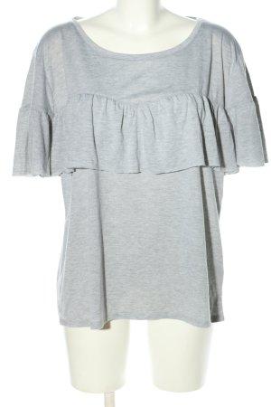 maxi blue. T-Shirt hellgrau meliert Casual-Look