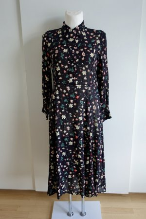 ARKET Robe chemisier multicolore viscose