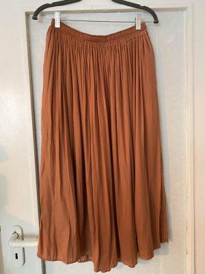 Uniqlo Plisowana spódnica łosowiowy