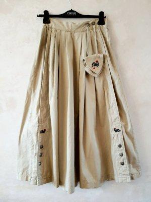Spódnica maxi jasnobeżowy