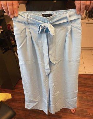 Amisu Pantalone chino azzurro