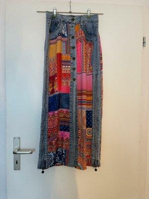 desiqual Maxi Skirt multicolored cotton