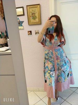 design thanh-thuy Sukienka plażowa błękitny