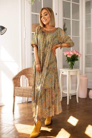 Bastet Maxi-jurk veelkleurig